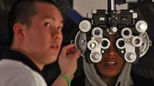 Delisting routine eye examinations for adults had the unintended consequence of reducing publicly funded retinopathy screening for people with diabetes, researchers in Ontario say.