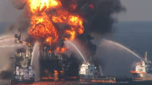 The U.S. Coast Guard made a 'colossal' mistake in how it fought  the fire on the Deepwater Horizon, says Mike Miller.