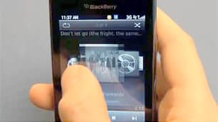 Research In Motion hoped its BlackBerry Torch could counter the momentum of Apple's iPhone and Google's Android devices.