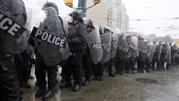Critics say the Public Works Protection Act was used to justify mass arrests of hundreds of G20 protesters.