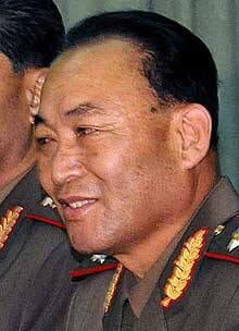 Vice Marshal Ri Yong Ho.