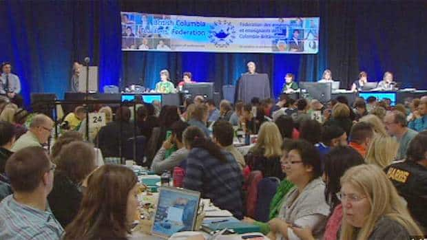 BCTF delegates are meeting in Vancouver to determine their next steps in their contract dispute with the province.