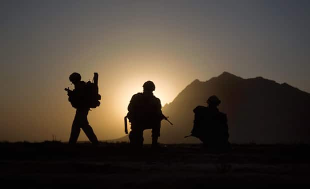 Canadian soldiers serving in Afghanistan and Africa are among those who have been prescribed the controversial anti-malarial drug mefloquine. Here, soldiers with the 1st Battalion 22nd Royal Regiment prepare for an operation in Kandahar in June 2011.