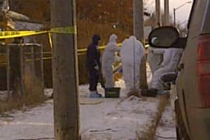 RCMP respond to the Nov. 26 blast that killed Shachtay.