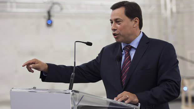 Ontario Minister of Economic Development and Innovation Brad Duguid speaks at a press conference in Toronto on Sept. 13, 2012.