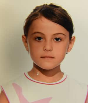 Jasmine Olleik, 9, was reported missing Wednesday and she was last seen stepping into a blue sedan that day.