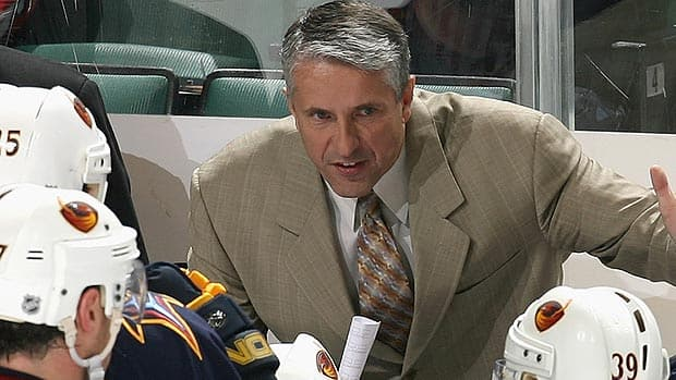 Bob Hartley, seen in 2006, will be coaching his third NHL team in Calgary.