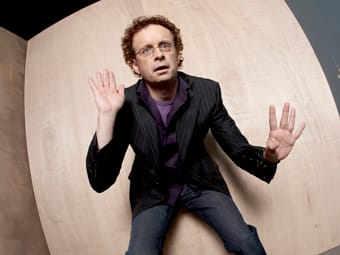 Kevin McDonald from Kids in the Hall shows off his miming skills