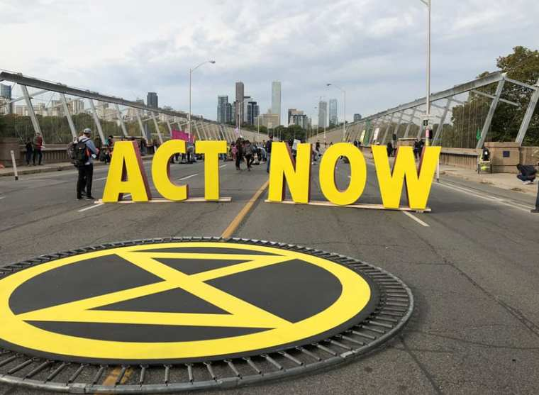 Image result for act now extinction rebellion