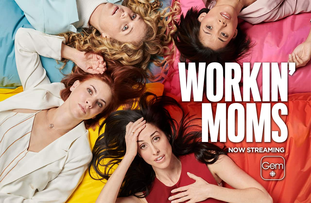 Cartel de la serie Workin´moms