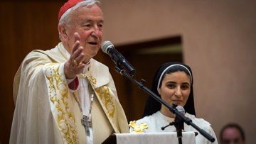 Cardinal: Much more needs to be done to help refugees in Iraq