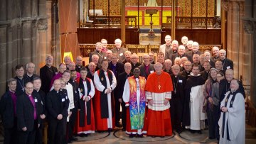 Joint Meeting of Catholic and Anglican Bishops