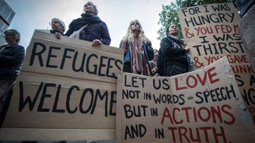 Bishops call on parishes to get involved with community sponsorship scheme for Syrian refugees