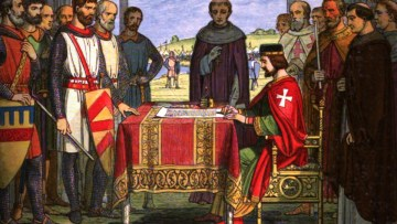 Magna Carta and Gospel Reading