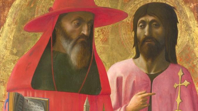 Saints Jerome and John the Baptist
