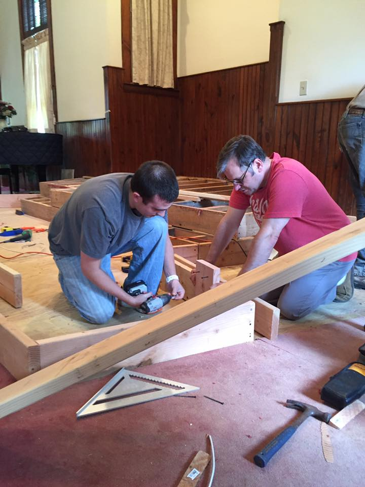 picture of work day - our congregation