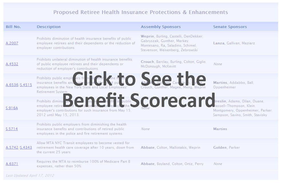 Proposed Retiree Health Insurance Protections & Enhancements