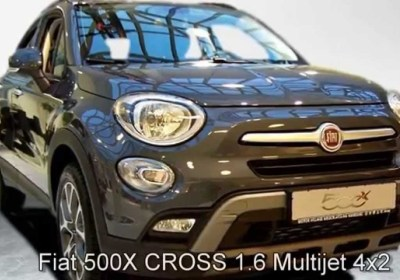 fiat 500x 1.6 mjet 120 cross 1,6 diesel 2wd used 2016