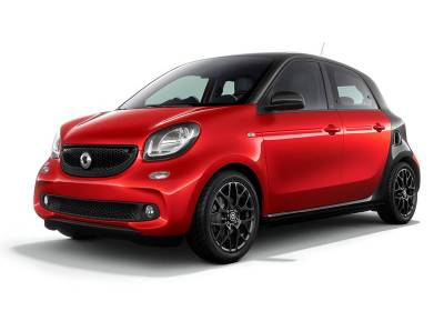 Smart For Four Aut. Passion 66kW Turbo Usato 2017 - 7.980 € Net price.