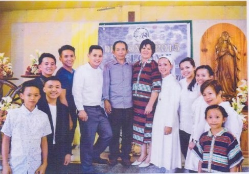 Martin family, one of the Outstanding Families to be awarded on Sunday 23 October at SMX Mall of Asia.