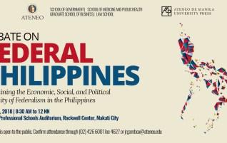 Debate on Federal Philippines