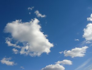 clouds-on-a-mostly-clear-sky