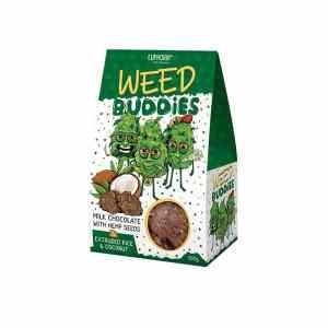 Euphoria Weed Buddies Milk Chocolate With Hemp Seeds