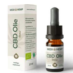 CBD olie18 procent 10 ml MediHemp