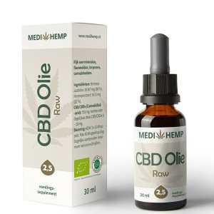 CBD olie 2,5 procent 30 ml Medihemp