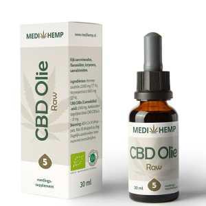 CBD olie 5 procent 30 ml Medihemp