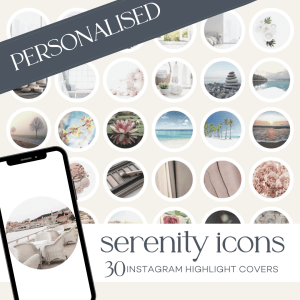 Personalised Instagram Highlight Covers