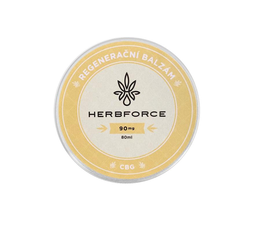 CBG balzám/krém Herbforce