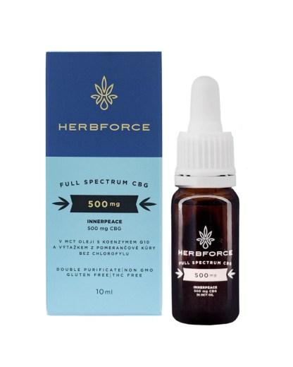 CBG olej/kvapky Herbforce
