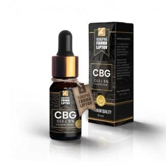 CBG olej/kvapky Konopná Farma Liptov