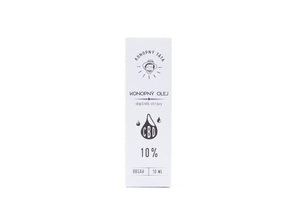 CBD olej/kvapky Konopný Táta, 10 %