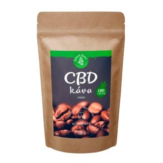 CBD káva mletá Zelená Země, 100g