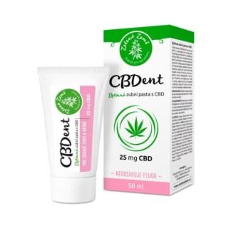 CBD zubná pasta Zelená Země, 50 ml