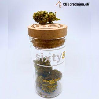 Švajčiarske CBG kvety Sixty8, Orange Bud, 4g