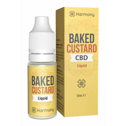 CBD e-liquid Harmony, Baked Custard, 10ml