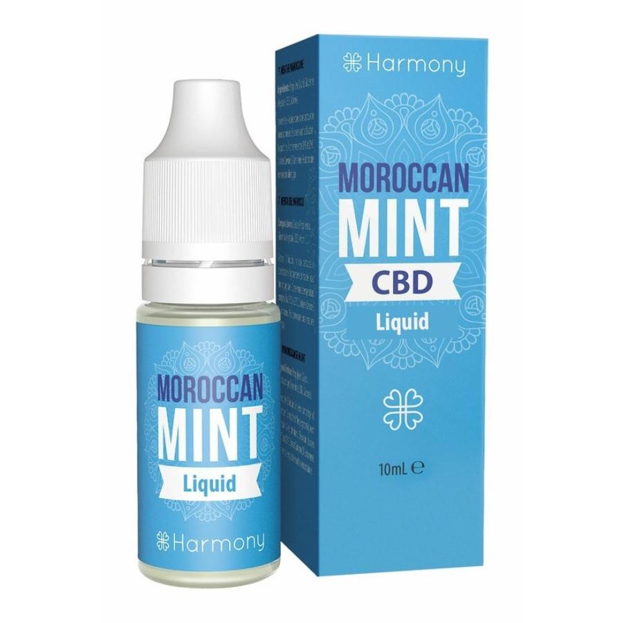 CBD e-liquid Harmony, Mint (mäta), 10ml - CBD vape náplň