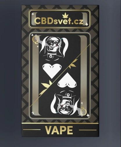 CBD vape CBDsvět, 60% CBD + 20% THV, USB adaptér
