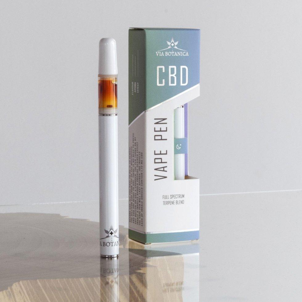CBD vaporizačné pero VIA BOTANICA, 61 %, 0.5 ml