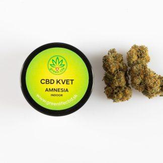 CBD kvety GreenLife, Amnesia, 2 g