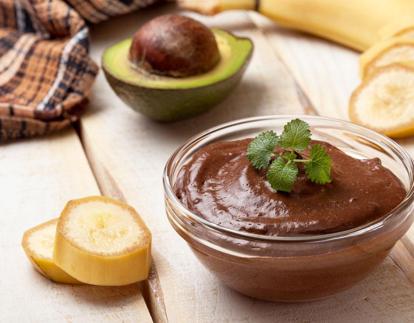 Recipe: CBD Avocado Chocolate Pudding