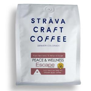 Strava Craft Coffee - Decaf Escape 60mg of CBD