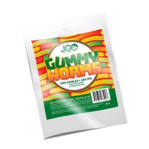 JGO Gummies - Gummy Worms 250mg