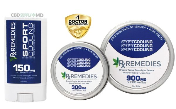 Organic, Full-Spectrum CBD Topical for Severely Inflamed Joints and Muscles