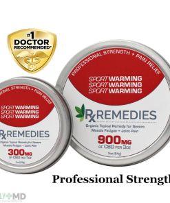 CBD Extra Strength Pain Relief Warming Balm