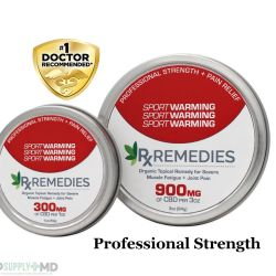 CBD Extra Strength Pain Relief Warming Balm