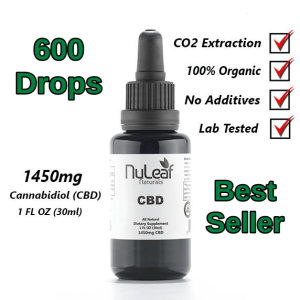 NuLeaf Full Spectrum CBD Oil 1,450mg